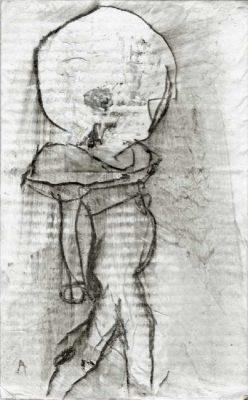 Acryl/Grafit, 16 x 25,5 cm, 2017